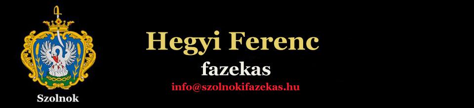 Hegyi Ferenc – szolnoki fazekas mester oldala